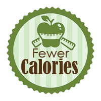 Fewer calories