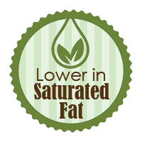 Lower saturated fat